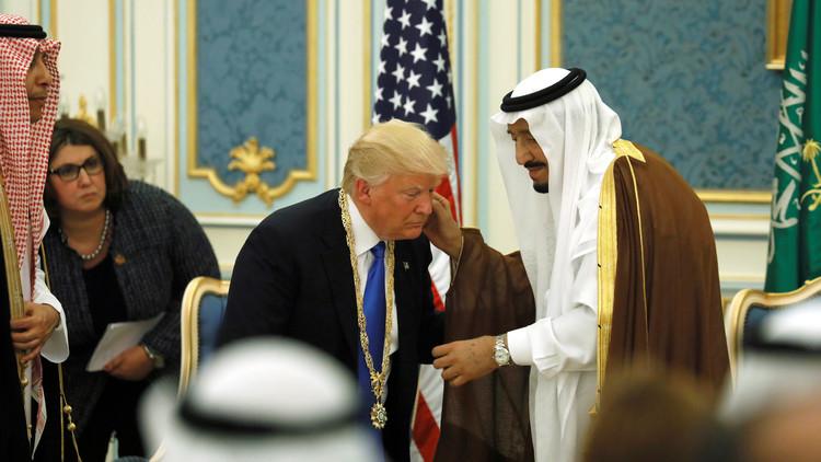 ترامب وجد مصدرين للحكمة.. لدى سلمان وأمام حائط البراق!