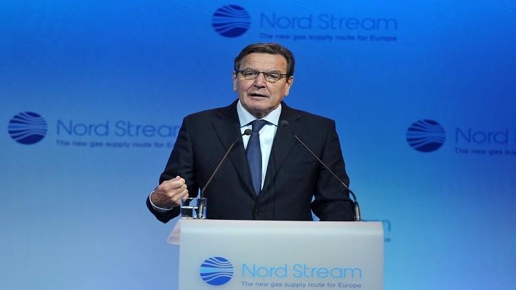 شرودر: على برلين أن تدرك استحالة عزل  روسيا