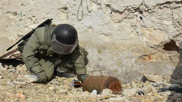 سلاح الهندسة السوري يشيد بفعالية المعدات الروسية