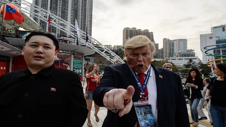 ترامب يصف زعيم كوريا الشمالية بالـ