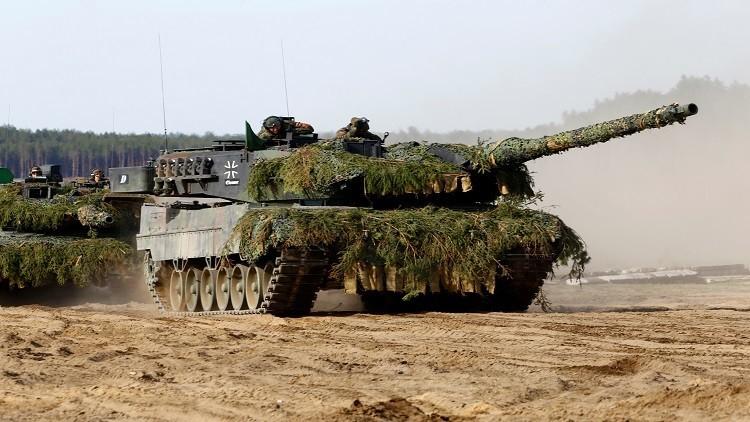 60 آلية عسكرية أطلسية إلى ليتوانيا المحاذية لروسيا!