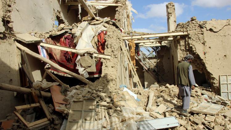 قتيل و9 جرحى بقصف في قندوز شمالي أفغانستان