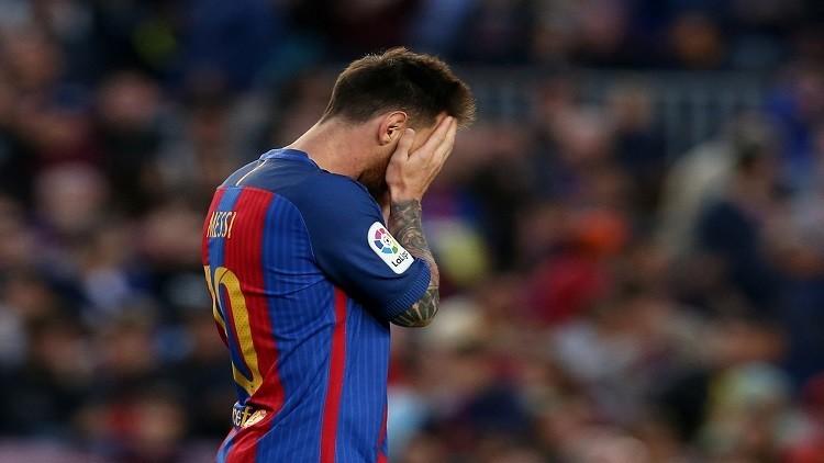 برشلونة يدعم ميسي بعد قرار حبسه