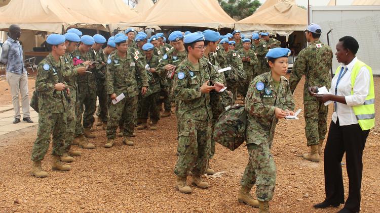 بعثة حفظ السلام اليابانية تنسحب من جنوب السودان