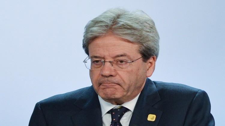 جينتيلوني: إيطاليا ستقدم لمجموعة G7 بيانا حول مكافحة الإرهاب