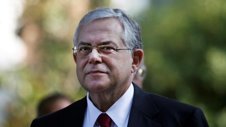 إصابة رئيس وزراء اليونان السابق في انفجار