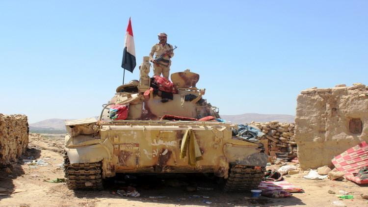 الجيش اليمني قاب قوسين من القصر الجمهوري في تعز