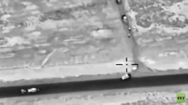 موسكو تتصدى لخروج داعش من الرقة نحو تدمر
