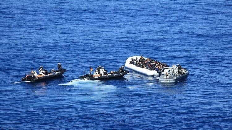 إنقاذ حوالي 3.5 ألف لاجئ عند سواحل ليبيا خلال يوم