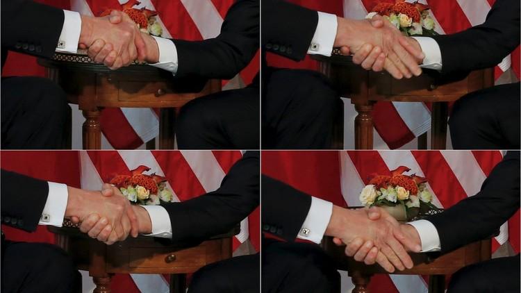 ماكرون معلقا على مصافحته لترامب: انتهى زمن تقديم التنازلات