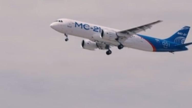 فيديو من الجو لأول تحليق لطائرة الركاب الروسية الجديدة إم إس-21