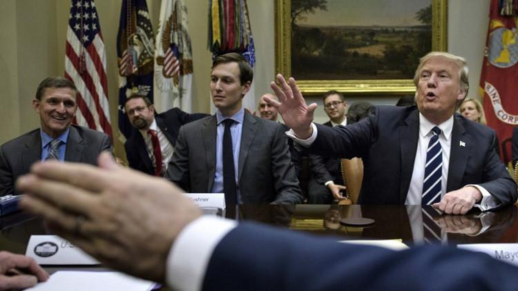 ترامب يؤكد ثقته بصهره كوشنير