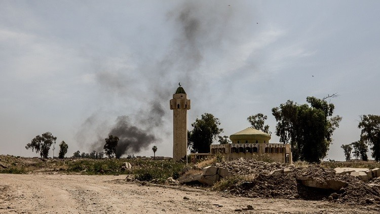 داعش يحرق