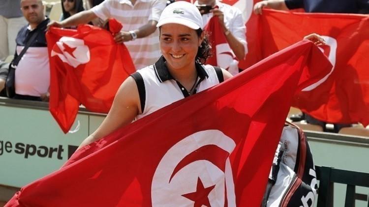 التونسية أنُس جابر إلى ثاني أدوار