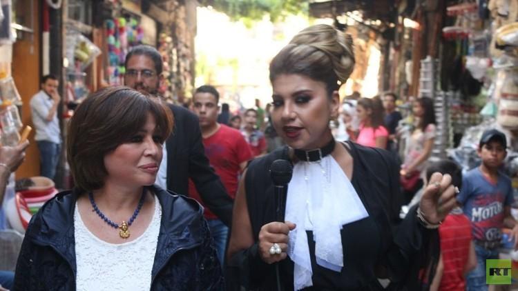 إلهام شاهين تتحدث عن زيارتها لسوريا والرئيس بشار الأسد