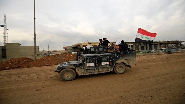 Iraqi forces incursion into western Mosul with the arrival of Abadi