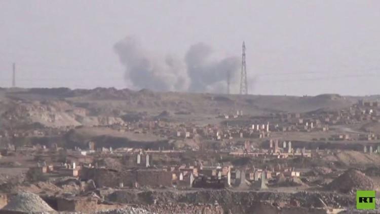 ارتفاع عدد ضحايا قصف داعش لدير الزور إلى 10 مدنيين