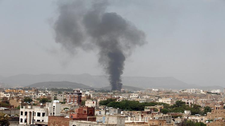مقتل 8 مدنيين بغارة للتحالف العربي في تعز