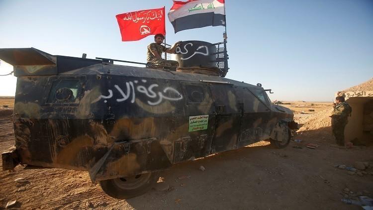 خندق على الحدود بين العراق وسوريا