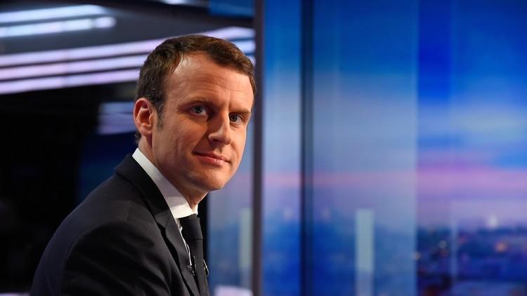 ماكرون يلتقي وفدا من المعارضة السورية