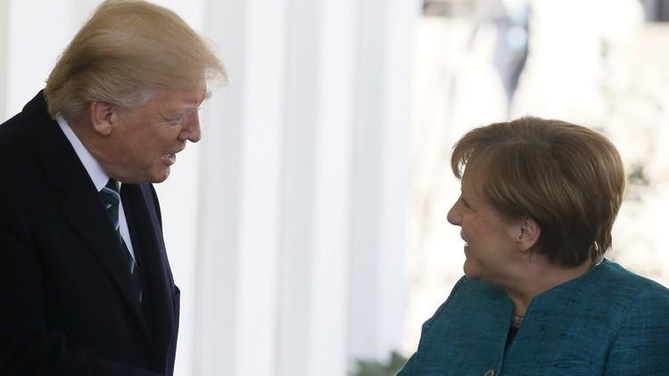 البيت الأبيض: علاقات ترامب وميركل رائعة للغاية
