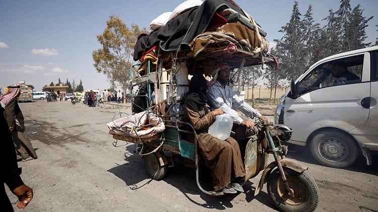 الأمم المتحدة: 100 ألف نازح من الرقة خلال شهرين