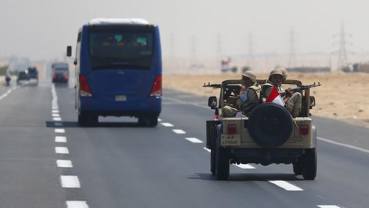 مقتل 3 ضباط  مصريين غرب البلاد
