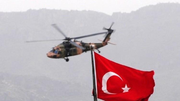 مقتل 13 جنديا بتحطم مروحية عسكرية جنوب شرقي تركيا