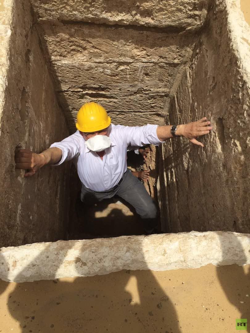 الآثار المصرية تعلن عن اكتشاف مثير في
