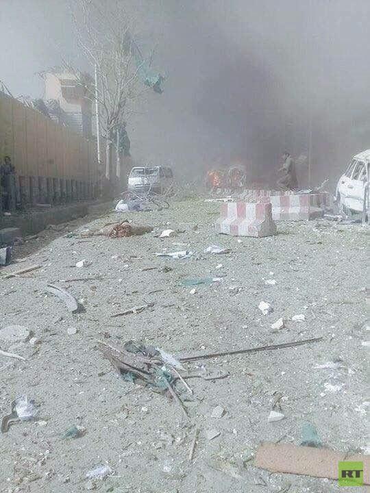 مقتل 80 شخصا وإصابة 350 بتفجير وسط كابل