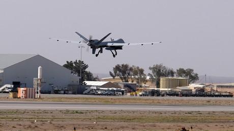 طائرة أمريكية بدون طيار
