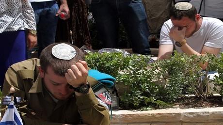 مراسم إحياء ذكرى قتلى معارك إسرائيل 1 مايو 2017