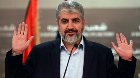 خالد مشعل، رئيس المكتب السياسي لحركة حماس