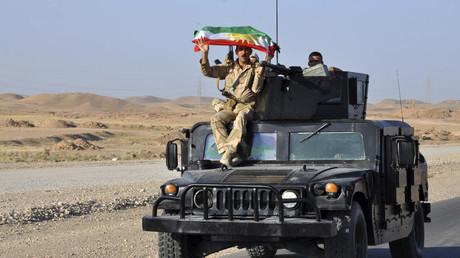 قوات البيشمركة في محافظة ديالى