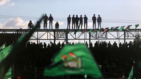 إحدى فعاليات حركة حماس في غزة
