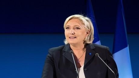 مارين لوبان مرشحة الانتخابات الرئاسية الفرنسية