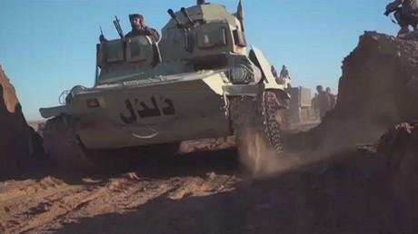 القوات العراقية تصل المشيرفة في الموصل