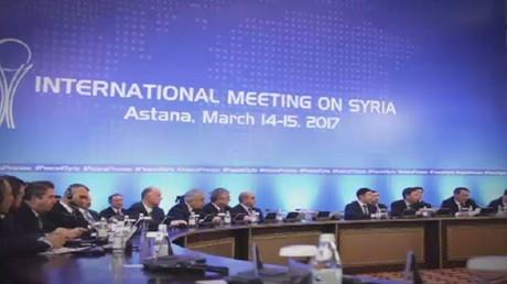 المعارضة السورية تواصل مشاركتها بأستانا