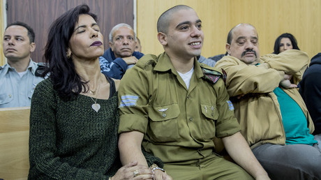 المتهم الإسرائيلي، إيلور عزريا الذي قتل فلسطينيا جريحا