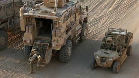 عناصر من القوات الأمريكية بالموصل