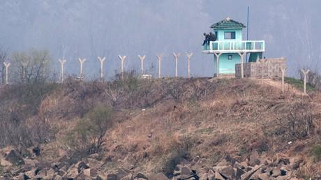 الحدود الصينية مع كوريا الشمالية