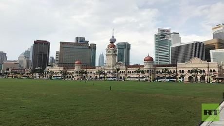 ساحة الاستقلال في عاصمة ماليزيا كوالالمبور