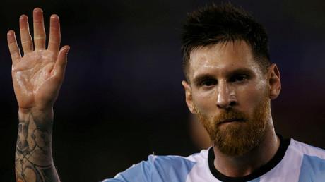 ليونيل ميسي مهاجم الأرجنتين