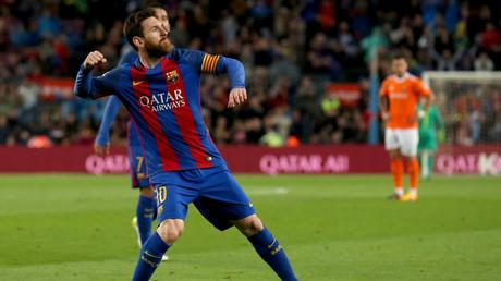 ليونيل ميسي مهاجم نادي برشلونة