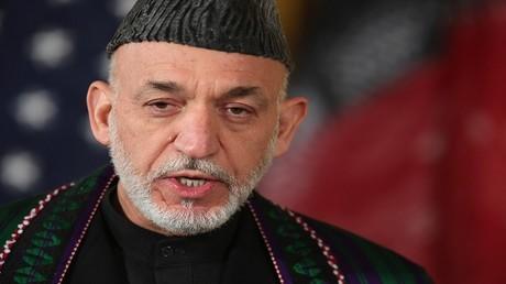 حامد كرزاي الرئيس الأفغاني الأسبق
