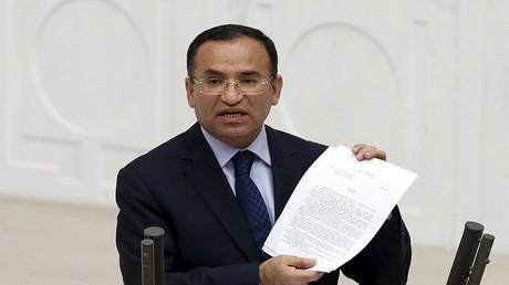 وزير العدل التركي بكر بوزداغ (أرشيف)