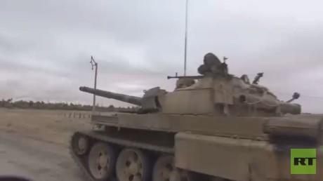 الجيش السوري يتقدم في دير الزور ومحيطها