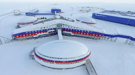 قاعدة عسكرية روسية في القطب الشمالي