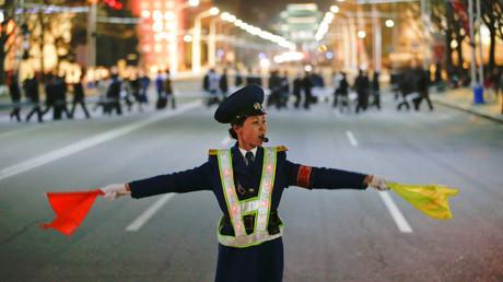 شرطية في بيونغ يانغ