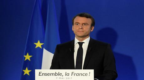 الرئيس الفرنسي المنتخب إيمانويل ماكرون